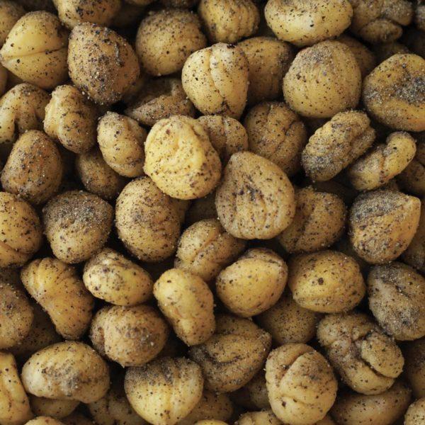 castagne sale e pepe - salt and pepper chestnuts