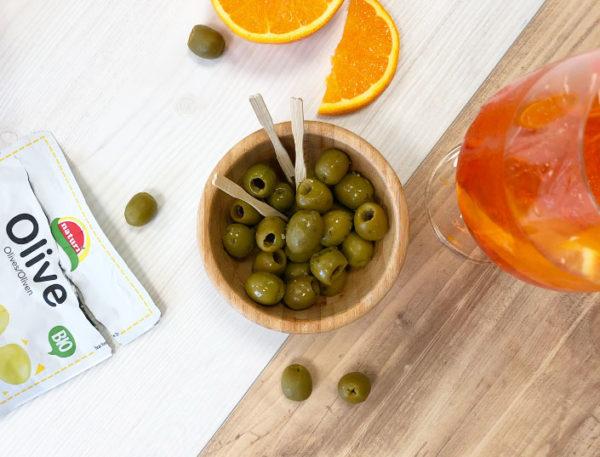 olive e aperol spritz