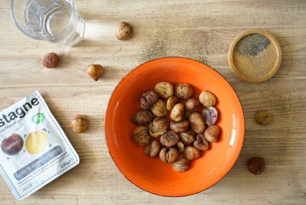 salt and pepper chestnuts
